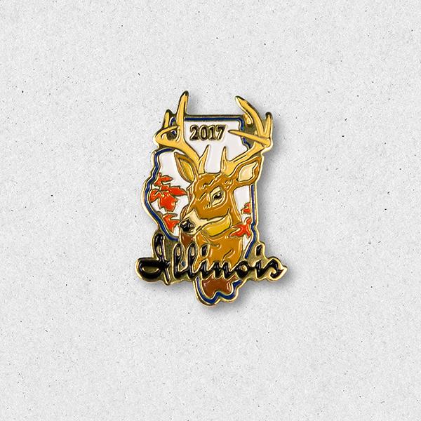 2017 Big Buck Pin