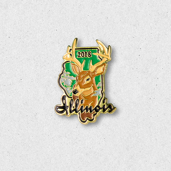 2018 Big Buck Pin
