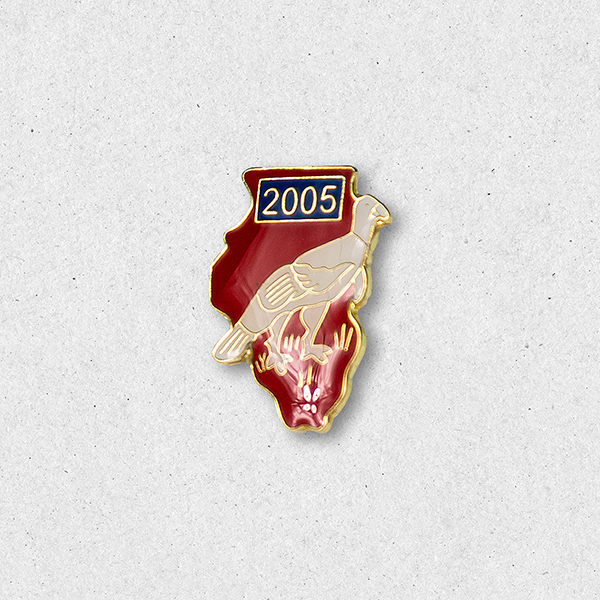 2005 Turkey Pin