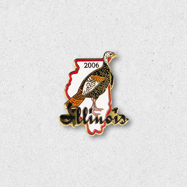 2006 Turkey Pin
