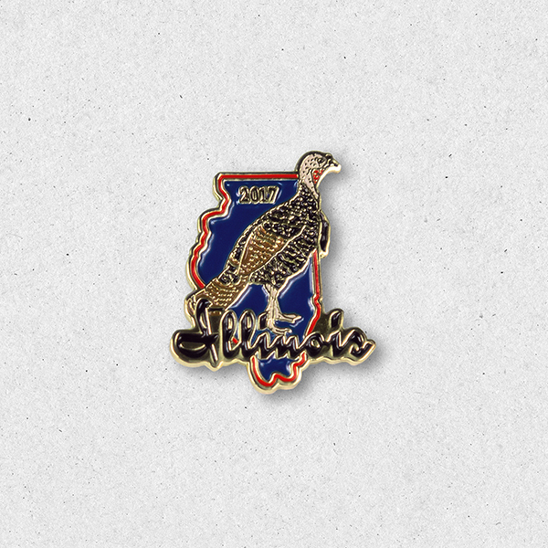 2017 Turkey Pin