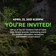 You're invited, ICF Outdoor Hall of Fame Gala