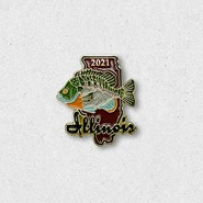 2021 Bluegill Pin