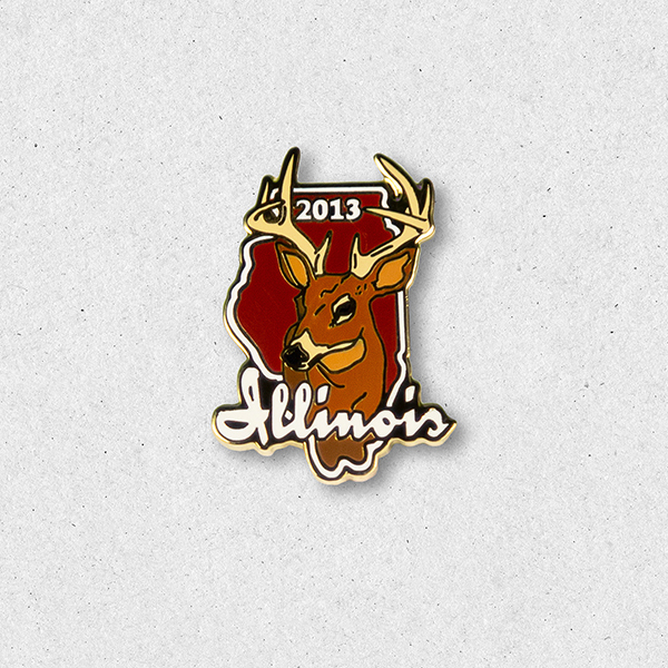 2013 Big Buck Pin