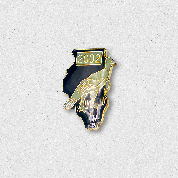 2002 Turkey Pin