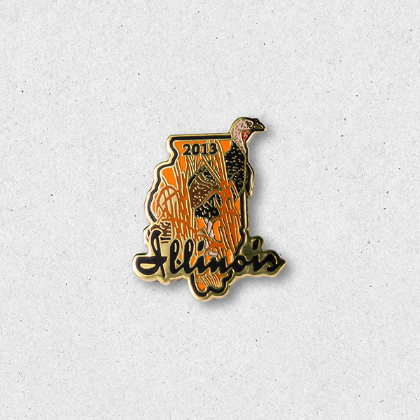 2013 Turkey Pin