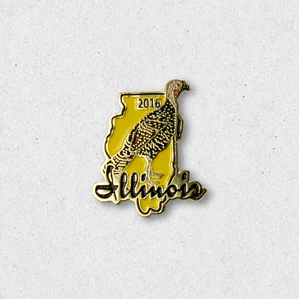 2016 Turkey Pin